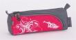 PULSE tolltartó, cipzáras, Cots Pink Tatoo, rózsaszín-szürke