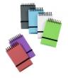 VIQUEL spirálnotesz, 75x125 mm, Propyglass Mini, vegyes színek, vonalas