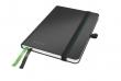 LEITZ jegyzetfüzet, exkluzív, A6, kockás, 80 lap, keményfedeles, Complete, fekete
