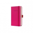 SIGEL jegyzetfüzet, exkluzív, A6, kockás, 194 oldal, Conceptum, pink
