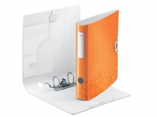 LEITZ iratrendező, 65 mm, A4, PP, 180 Active Wow, narancssárga