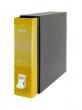 REXEL tokos iratrendező, 85 mm, A4, karton, Dox, sárga