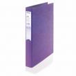 REXEL gyűrűs könyv, 2 gyűrű, 25 mm, A4, PP/karton, Joy, lila