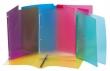 VIQUEL gyűrűs dosszié, 4 gyűrű, 20 mm, A4, PP Propyglass, vegyes szín