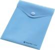 PANTA PLAST irattartó tasak, A7, PP, patentos, pasztell kék