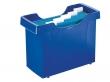 LEITZ függőmappa tároló, műanyag, 5 db függőmappával, Plus, kék