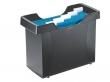 LEITZ függőmappa tároló, műanyag, 5 db függőmappával, Plus, fekete
