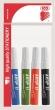 ICO flipchart marker készlet, 1-3 mm, kúpos, Artip 11, 4 különböző szín