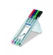 STAEDTLER tűfilc készlet, 0,3 mm Triplus Box, 4 különböző szín