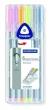 STAEDTLER tűfilc készlet, 0,3 mm Triplus Box, 6 pasztell szín