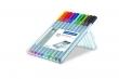 STAEDTLER tűfilc készlet, 0,3 mm Triplus Box, 10 különböző szín