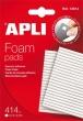 APLI ragasztó négyzetek, 414 db/csomag, kétoldalas, APLI