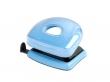 REXEL lyukasztó, kétlyukú, 10 lap, Joy, kék