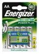 ENERGIZER tölthető elem, AA ceruza, 4x2000 mAh Power Plus