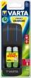 VARTA elemtöltő, AA ceruza/AAA mikro, 4x2100 mAh AA Pocket