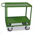 MULTIBRAND szállítókocsi, kétszintes, 200 kg teherbírás, zöld