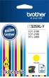 BROTHER lC525XLY Tintapatron DCP-J100, J105 nyomtatókhoz, sárga, 1300 oldal