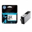HP cB316EE Tintapatron Photosmart C5380, C6380, D5460 nyomtatókhoz, 364 fekete, 250 oldal