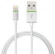 LEITZ USB kábel, iPhone/iPod/iPad készülékhez, 30 cm, lightning, Complete, fehér