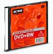 ACME dVD+RW lemez, újraírható, 4,7GB, 4x, vékony tok