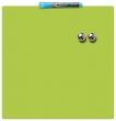 NOBO üzenőtábla, mágneses, írható, zöld, 36x36 cm Quartet,