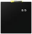 NOBO üzenőtábla, mágneses, írható, fekete, 36x36 cm Quartet,