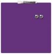 NOBO üzenőtábla, mágneses, írható, lila, 36x36 cm Quartet