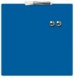 NOBO üzenőtábla, mágneses, írható, kék, 36x36 cm Quartet