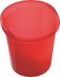 HELIT szemetes, 13 liter Economy, áttetsző piros