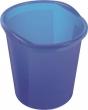 HELIT szemetes, 13 liter Economy, áttetsző kék