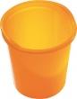 HELIT szemetes, 13 liter Economy, áttetsző narancssárga