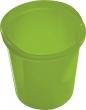 HELIT szemetes, 13 liter Economy, áttetsző zöld