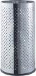 HELIT esernyőtartó, rozsdamentes acél, ezüst