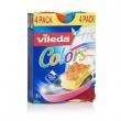 VILEDA mosogatószivacs, 3+1 db Pure Active Colors