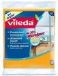 VILEDA ablaktörlő kendő, 30 % mikroszállal