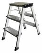 KRAUSE fellépő, 4 lépcsőfokos, alumínium Treppo