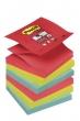 3M POSTIT jegyzettömb, öntapadó, Z, 76x76 mm, 6x90 lap, Super Sticky, Bora Bora