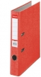 ESSELTE iratrendező, 50 mm, A4, karton, Rainbow, piros
