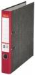ESSELTE iratrendező, 55 mm, A4, karton, márványos, piros