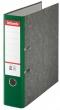 ESSELTE iratrendező, 75 mm, A4, karton, márványos, zöld