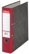 ESSELTE iratrendező, 75 mm, A4, karton, márványos, piros