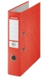 ESSELTE iratrendező, 75 mm, A4, karton, Rainbow, piros