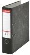ESSELTE iratrendező, 75 mm, A4, karton, márványos, fekete