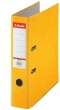 ESSELTE iratrendező, 75 mm, A4, karton, Rainbow, sárga