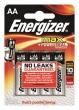 ENERGIZER elem, LR6/AA, alkáli, ceruza, Max