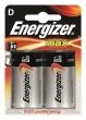 ENERGIZER elem, LR20/D, alkáli, góliát, Max