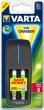 VARTA elemtöltő, AA ceruza/AAA mikro/9V, 4x2100 mAh AA, USB, LCD Plug