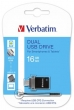 VERBATIM pendrive, 16 GB, USB 2.0, táblagéphez, +micro USB adapter, DUAL