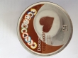 MULTIBRAND cappuccino díszítő lapka, műanyag, 10 db-os