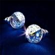 SWAROVSKI fülbevaló, Crystals from antikolt fehér, 8mm